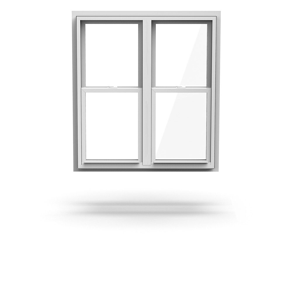 Premium Vinyl Hybrid Windows